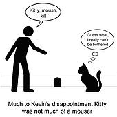 Kitty mouse hole