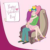 love queen and king