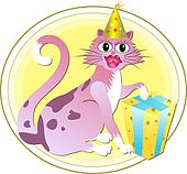 Birthday Cat