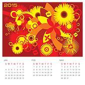 Summer Season - Concept Calendar