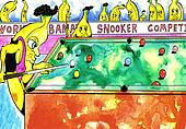 Banana Snooker