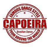 Capoeira stamp