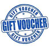 Gift voucher stamp