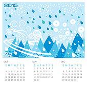 Winter Season - Concept Calendar
