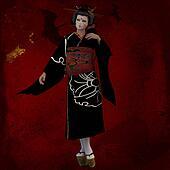 Oriental Woman Kimsu