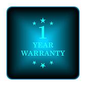 1 year warranty icon