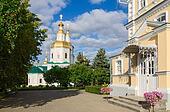 Kazan Cathedral in Holy Trinity Seraphim-Diveevo nunnery, Diveevo, Russia
