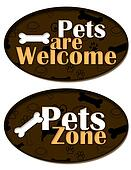 Pets are Welcome Zone
