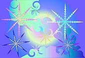 Magic snowflakes