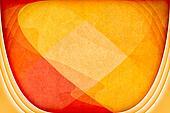 Orange Futuristic Fantasy Sci-Fi Background Texture