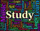 Study Word Indicates Studying Develop And Training