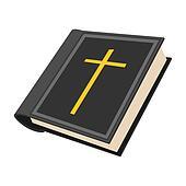 Bible cartoon icon