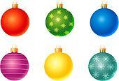 Set of christmas decoration