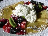 Fancy Fruit Crepe