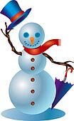 Snowman #1