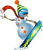 Snowman #3