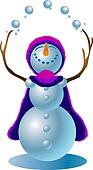 Snowman #4