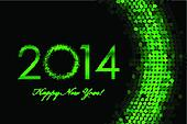 2014 green background