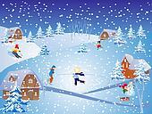fun in the snow,