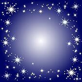 Starry border