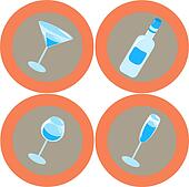 Alcohol icons 2