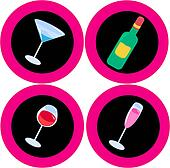 Alcohol icons 1