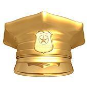 Gilded Police Cap 01