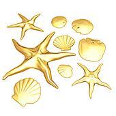Gilded Starfish