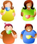 coffee break people