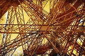 Grunge Eiffel Tower