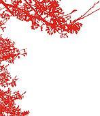 Blossom Silhouette