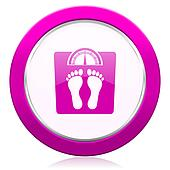 weight violet icon