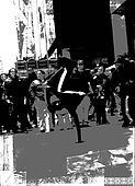 Breakdancer B&WBreakdancer B&W