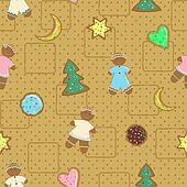 Gingerbread Man and  cookies