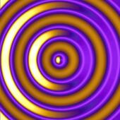 Golden Hypnotic Circles