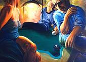 Billiards night club