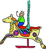 carousel kid