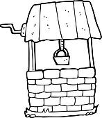 Wishing Well Clip Art - Royalty Free - GoGraph