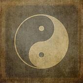 Yin yang vintage