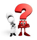 Chef with question mark