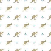 kangaroo tracks coloring pages - photo#40
