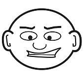bald punky dude