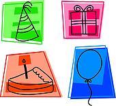 birthday icons