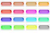 Glass pill buttons 04