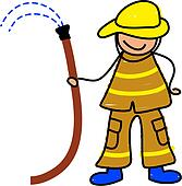 fireman kid