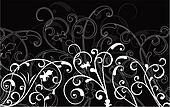 Ornamental background, vector
