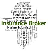 Insurance Broker Indicates Insures Occupation And Trafficker