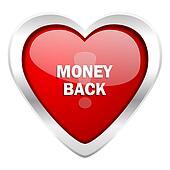 money back valentine icon