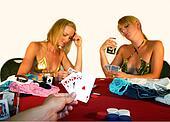 Winning strip poker