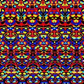 Psychedelic colorful pattern.